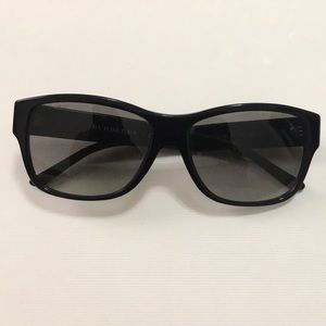 Authentic Burberry Black Sunglasses